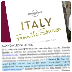 Italy from the source Sarah Barrell Lonely Planet