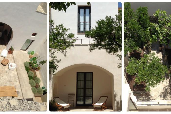 La Casa Grande Ferienwohnung mit Pool Urlaubsarchitektur Nardò Lecce Salento Puglia